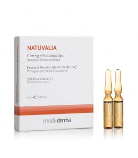 NATUVALIA GLOWING EFFECT AMPOULES 5 x 2 ml